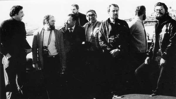 Участники советско-американской экспедиции