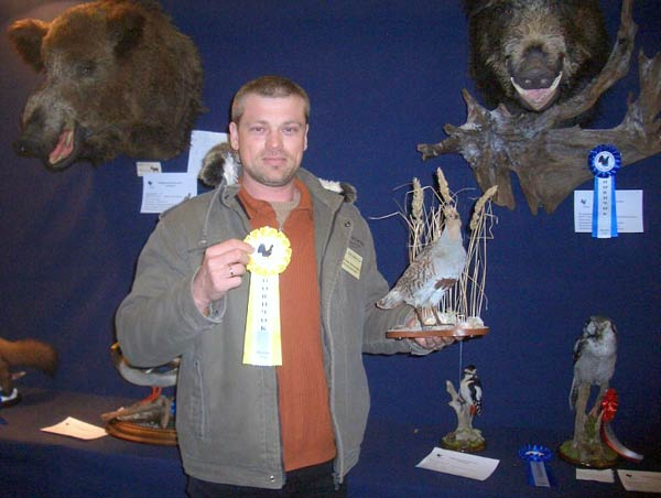 Александр Алексеевич с медалью за 3-е место