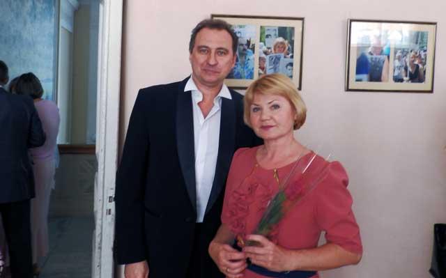 Ирина Грищенко с Юрием Федоровым