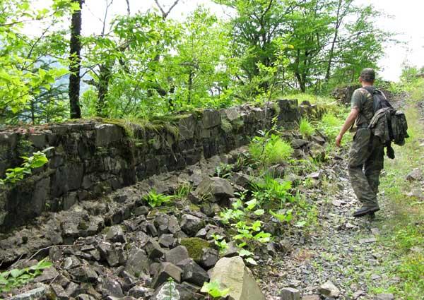 Горная дорога. Её строили пленные немцы после Великой Отечественной войны.