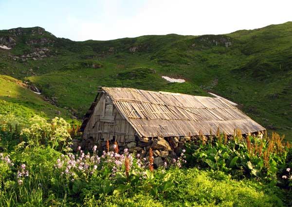 Балаган – временное пристанище охотников и пастухов.