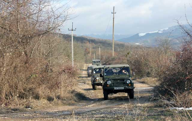 Рескомлес Крыма на подсчете охотничьих животных. Фото пресс-службы Рескома